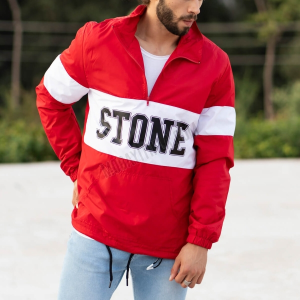 Erkek Stone Fermuarlı...