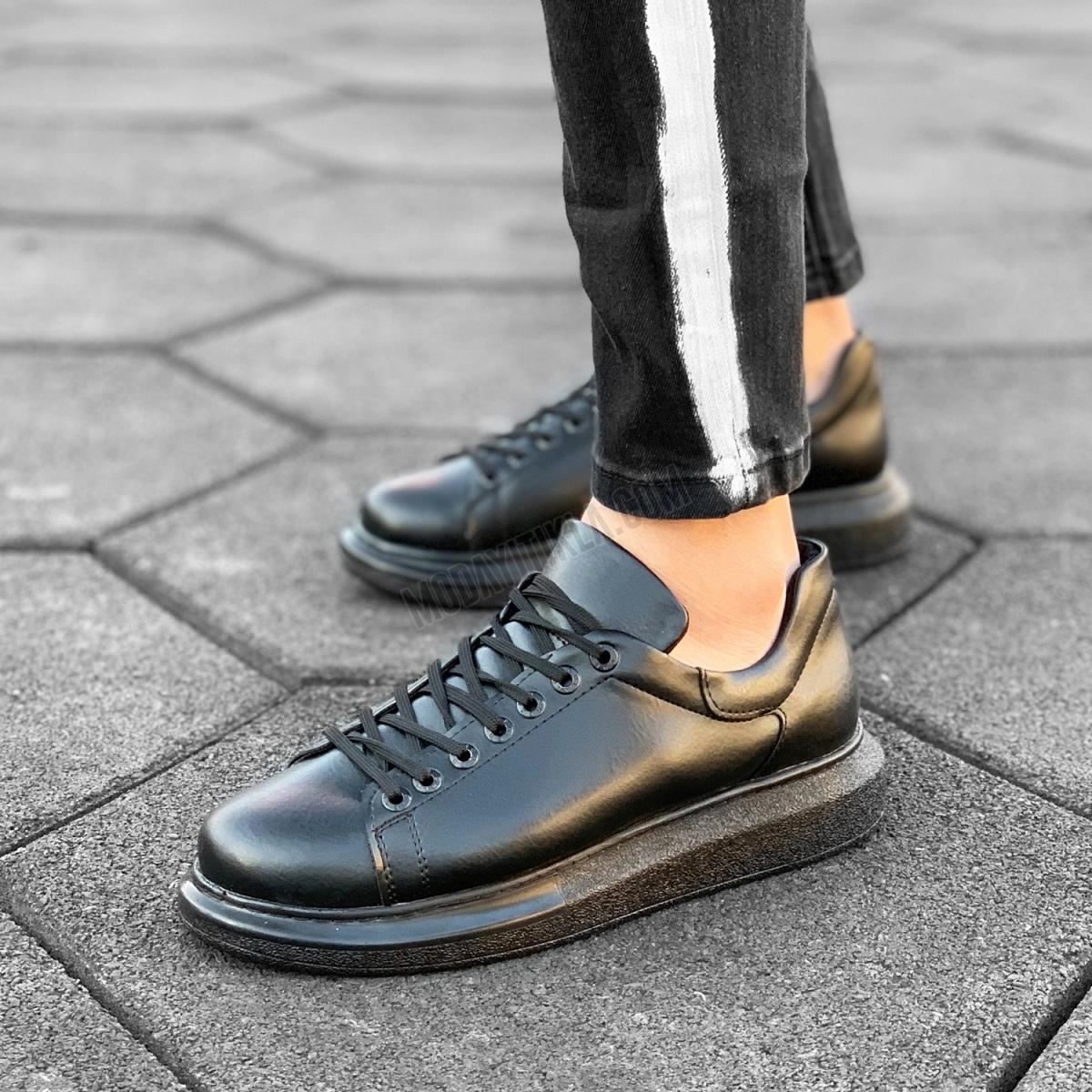 Erkek Yüksek Taban Erkek Sneaker Ayakkabı