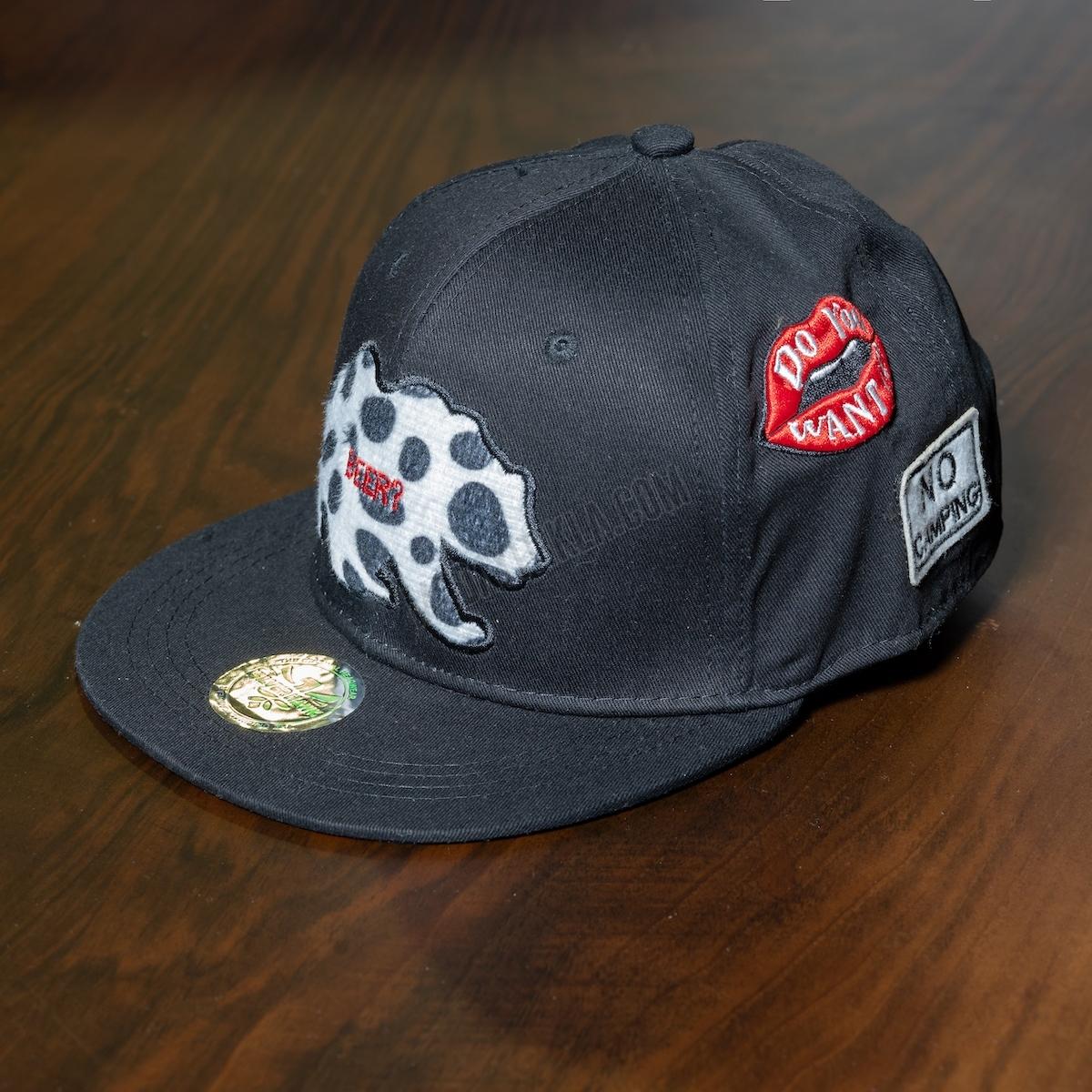 Erkek Siyah Beer Şapka