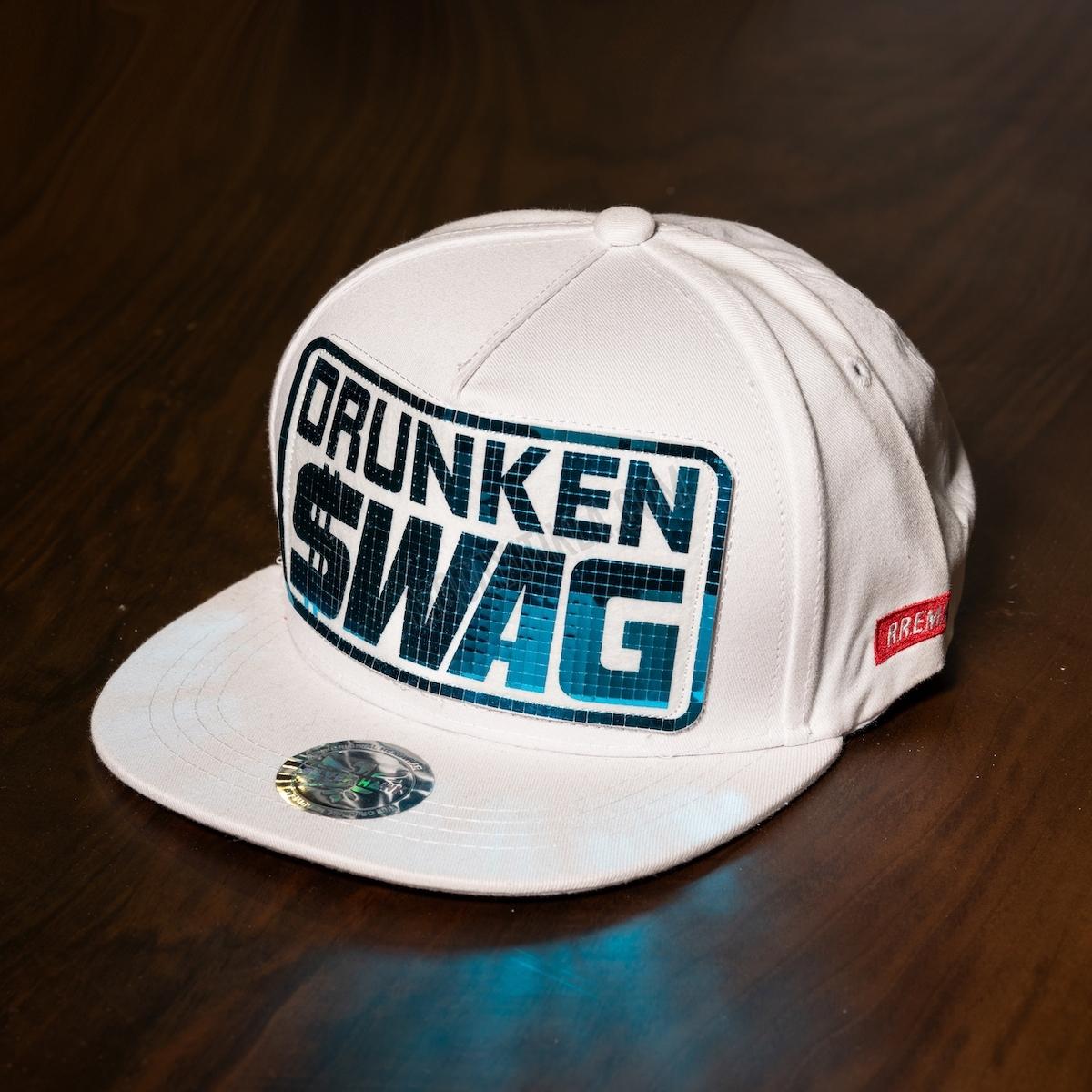 Erkek Siyah Drunken Swag Şapka