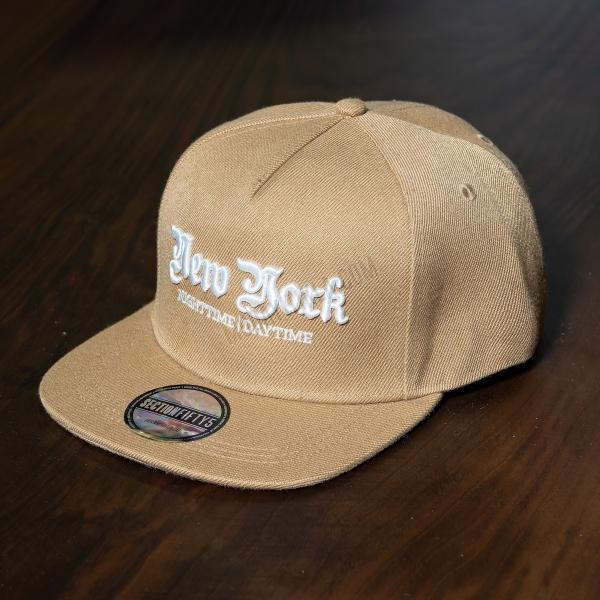 Erkek Bej New York Şapka