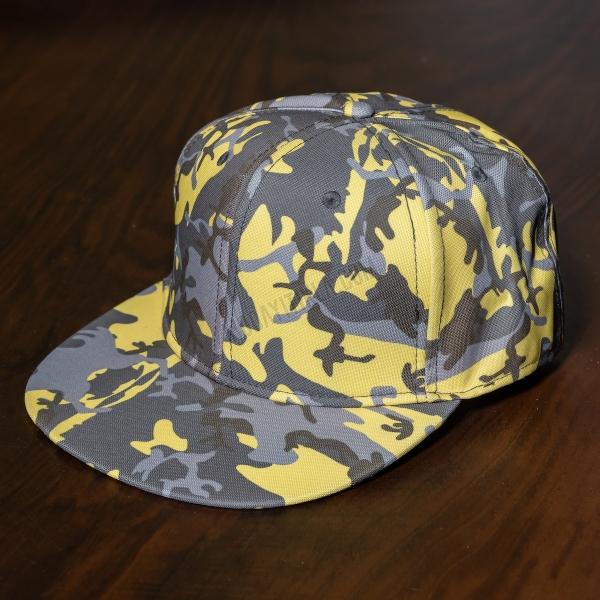 Erkek Sarı Kamuflaj Şapka