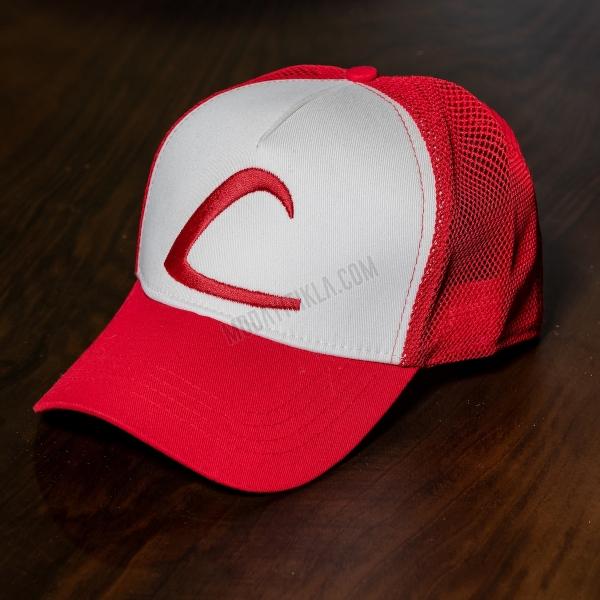 Erkek Kırmızı Poke Şapka