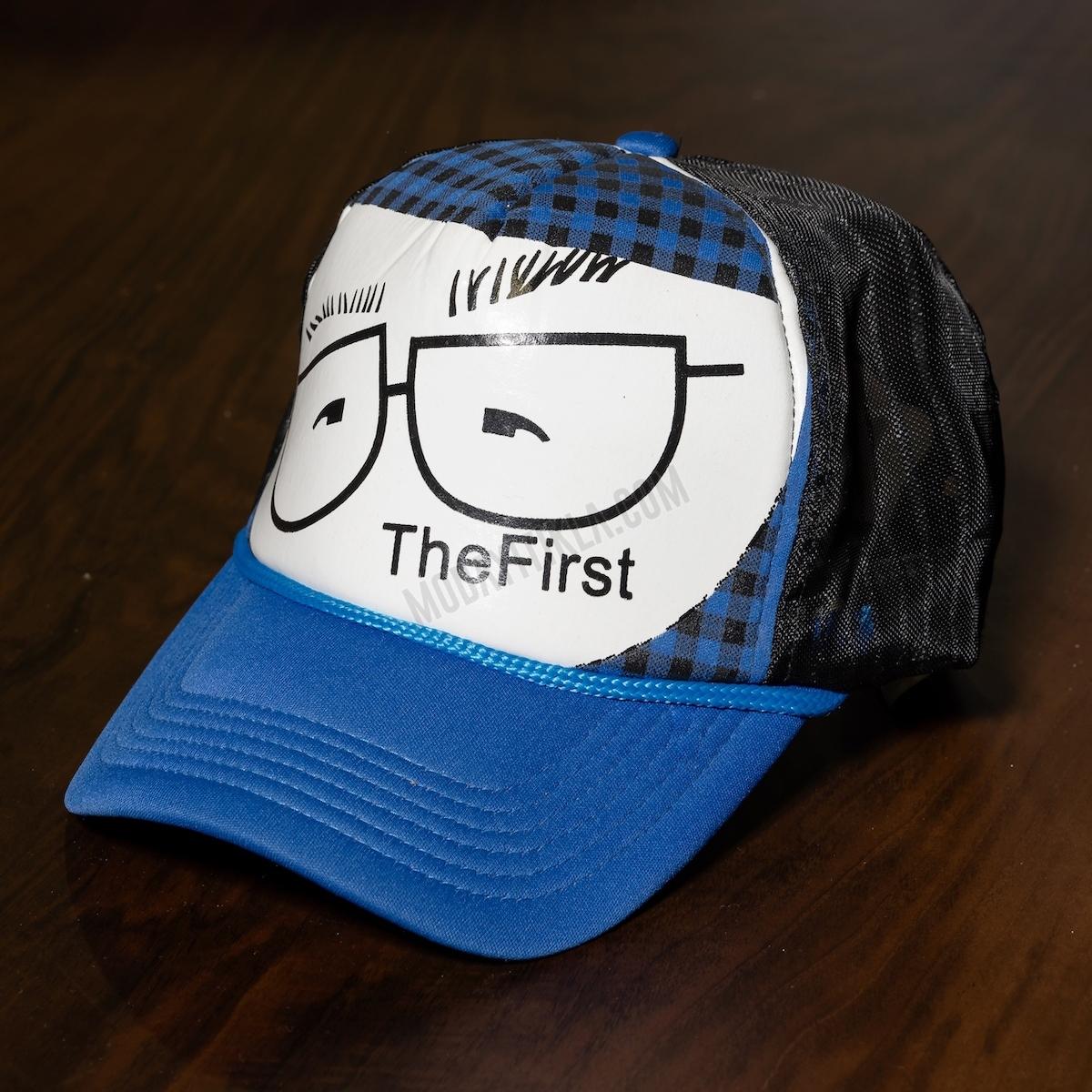 Erkek Siyah-Mavi TheFirst Şapka