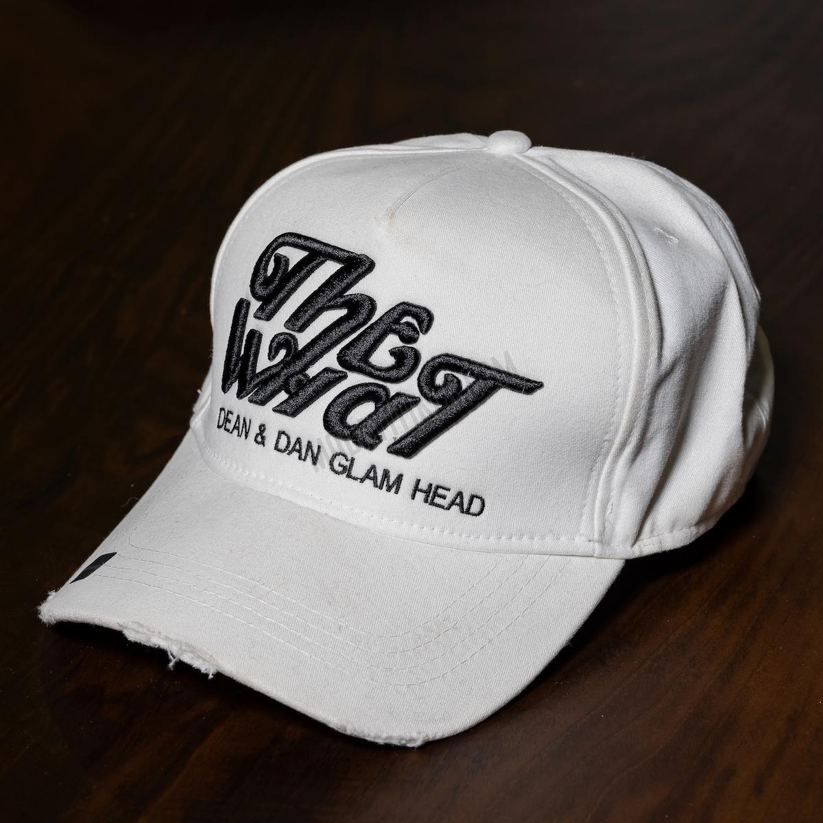 Erkek Beyaz The What Şapka