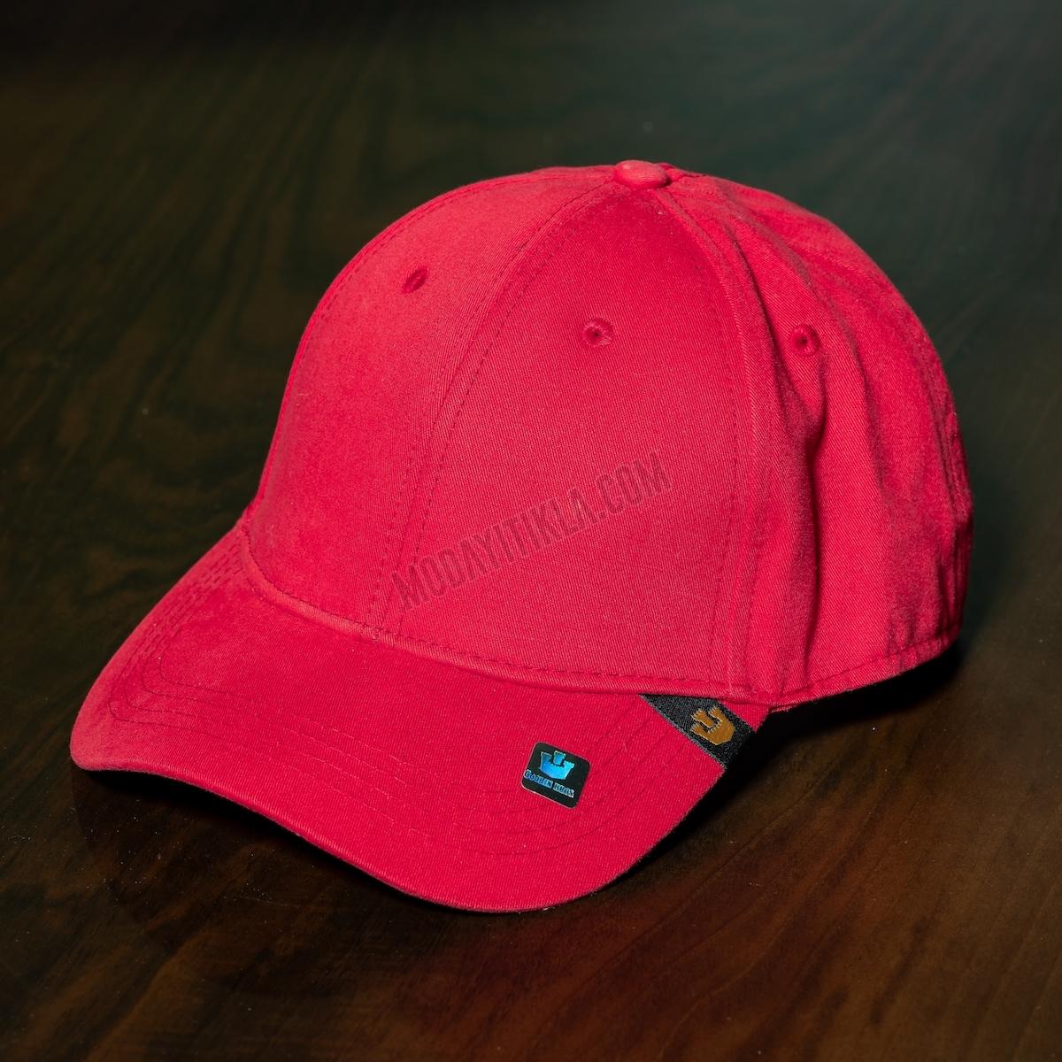 Erkek Kırmızı İthal Gooring Bross Şapka