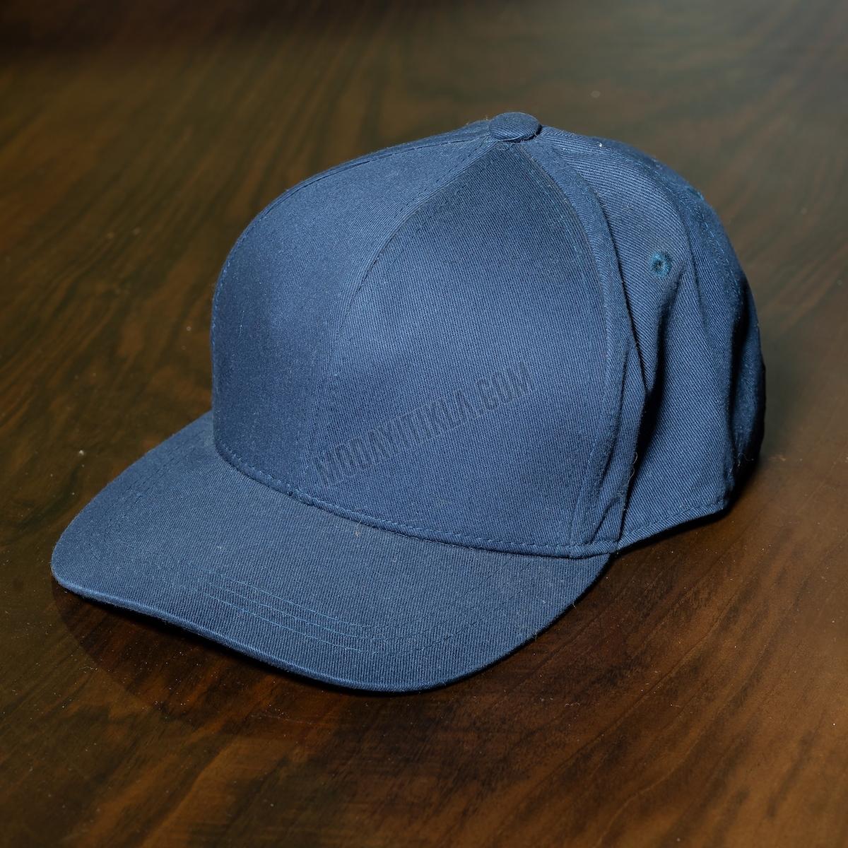Erkek Lacivert Kasket Şapka