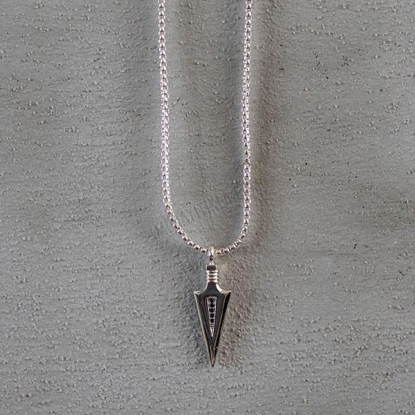 Silver Arrow Uzun Kolye