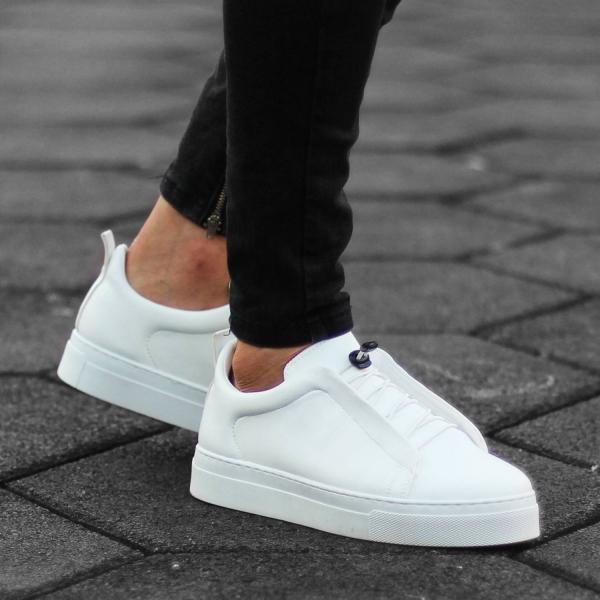 Erkek Comfy Beyaz Sneaker...