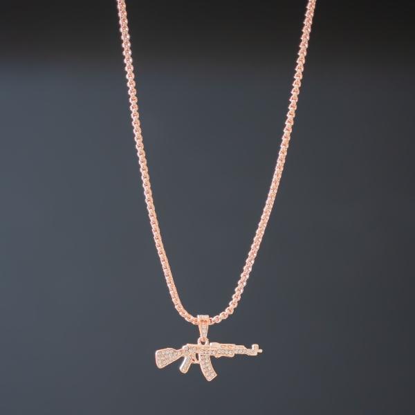 Erkek AK-47 Rose Gold Uzun...
