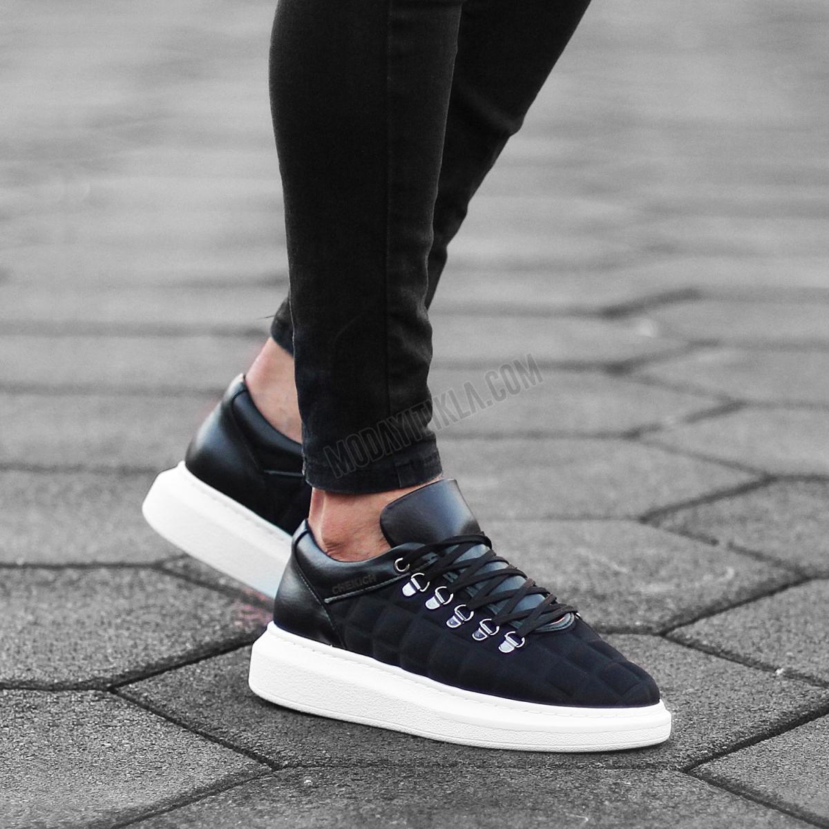 Italian Sport Yüksek Taban Erkek Ayakkabı