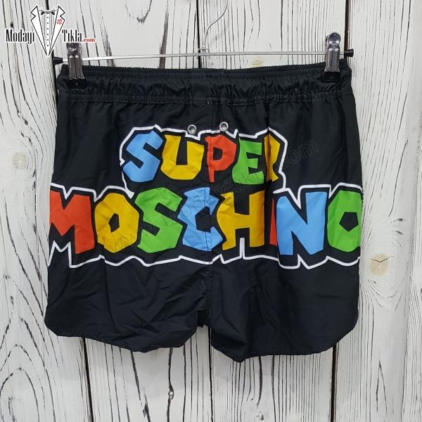 Erkek Super Moschino Siyah...
