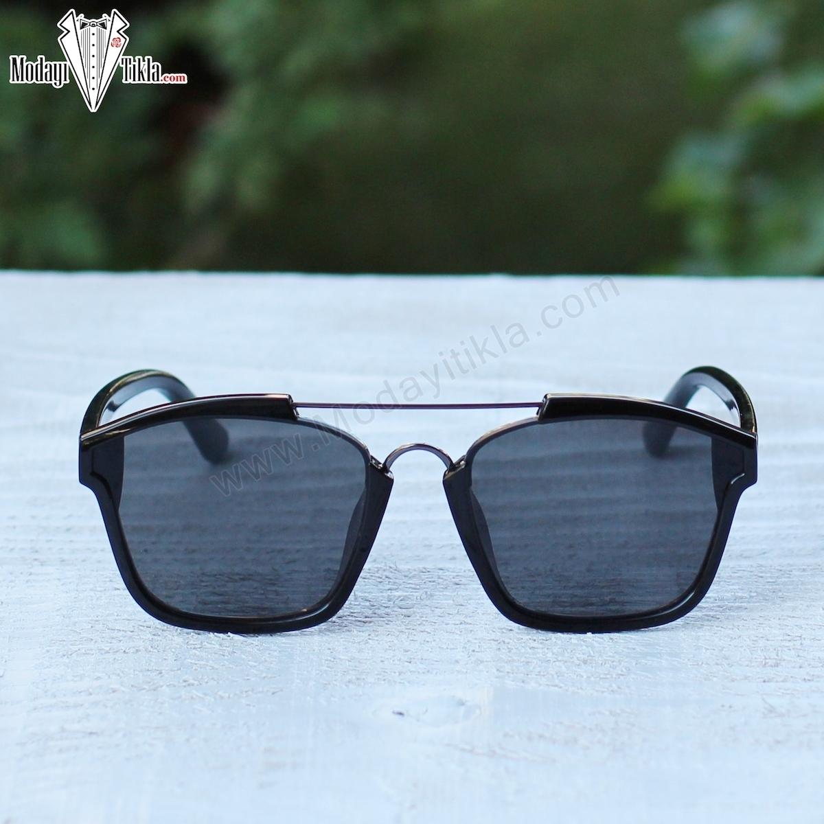 Vintage Soreal Siyah Güneş Gözlüğü